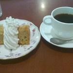 カフェ オリンピック - ケーキセット