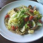 檪の丘 - 春野菜のパスタ