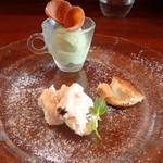 ラッテリア ベベ カマクラ - デザート盛り合わせ(ランチコース)