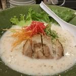 麺達 - 冷し豚骨ラーメン