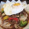 イムキッチン - 料理写真:ガパオフォー700円。 タイ風汁なし担々麺みたいな~。