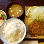 とんQ - カツライス(ランチ限定)ご飯大盛り ¥1,000+110