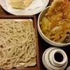 さんぽ径 - 料理写真:ミニ天丼とのセット