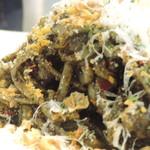 寿 - ブラックボロネーゼの麺