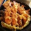 魚葉菜 - 料理写真:天丼800円