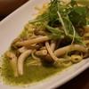 ルベッタ - 料理写真:水菜とベーコンのジェノベーゼ