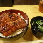 宇奈とと - 料理写真:うな丼ダブル&肝吸い