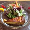 ラ メゾン ド タカクサギ - 料理写真:サラダとキッシュ