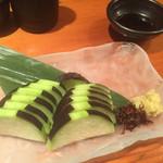 経堂カンザワ - 泉州水茄子の刺身
