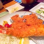52695993 - ヒレカツ&エビフライ定食