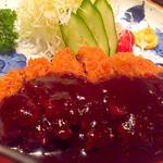 52695994 - ロースカツ定食