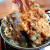 高半 - 料理写真:天丼 900円