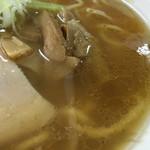 中華屋 光 - スープ