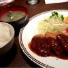 キッチンバー ガンプ - 料理写真:限定10食 ビーフカツ&海老フライ 850円