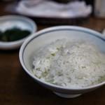 丸五 - ご飯