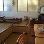 海洋食堂 - 店内(左側)
