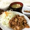 秋北食堂 - 料理写真:生姜焼き定食