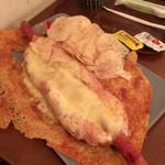 Cafe MOCO - チーズホットドッグセット