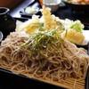 佐久の草笛 - 料理写真:海老天ざる蕎麦