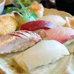 鮨 睡蓮 - お寿司アップ