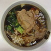 秩父そば - 料理写真:武蔵野肉そば 500円