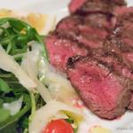 52731205 - 国産牛肉のタリアータ ルッコラ添え 15年熟成バルサミコソース【2016年3月】