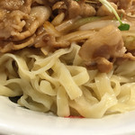 六代目けいすけ - 平打ちピロピロ麺