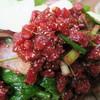 カウケン - 料理写真:ラップイサーン(生牛肉のハーブサラダ)