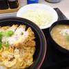 かつや - 料理写真:ミニかつ丼セット(421円)