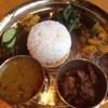 ネパール・日本居酒屋 さくら - 料理写真:ダルバートセット(マトン)