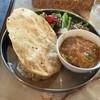 なぎ食堂 - 料理写真:モロッコいんげんと小松菜のココナツカレー