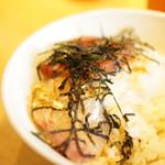 七蔵 - カンパチ丼