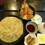 手打ちそば 庄庵 - ミニ丼セット ¥980