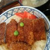 といや - 料理写真:カレー風味の元祖かつ丼