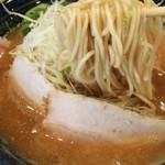 GAGA 中村商店 - 1606_GAGA中村商店_濃厚鶏豚骨らーめん@720円(麺up)