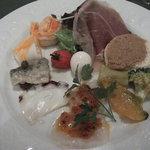 アラペサ - 前菜の盛合せ