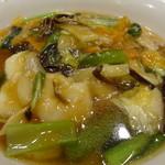 バーミヤン - 料理写真:キクラゲが従来の半分以下になった五目麵(28年05月)
