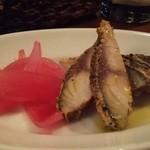 CANTINETTA SALUS - 料理写真:1番人気メニュー!サバの燻製