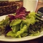 CANTINETTA SALUS - 料理写真:緑野菜いっぱいの農家サラダ