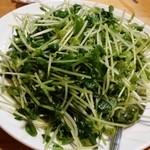 中国飯店佳里福 - 豆苗炒め