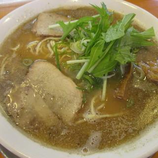 麺饗 松韻 - 料理写真:こってり 中