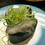 活 - 生しらす軍艦(130円)