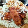 かつや - 料理写真:甘辛から揚げ定食745円 ご飯 とん汁(小)付き