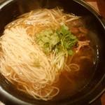 きわめ - 神戸牛テール塩ラーメン