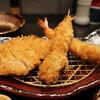とんかつ浜勝 - 料理写真:エビフライとヒレかつランチ とろろつき 1177円。