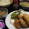 ヴァンヴェール - 料理写真:日替わり定食(カキフライ・コロッケ)