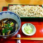 休屋 - 鴨汁せいろ(1100円)12.11月