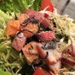 和鮮酒庵 やなぎ - 海鮮サラダ