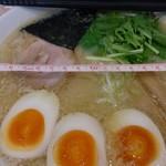 52804009 - 味噌ラーメン780円(クーポンで玉子追加)丼の直径21cm