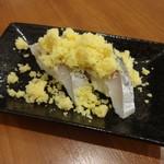 呑・さなみ - うの花寿司2貫300円